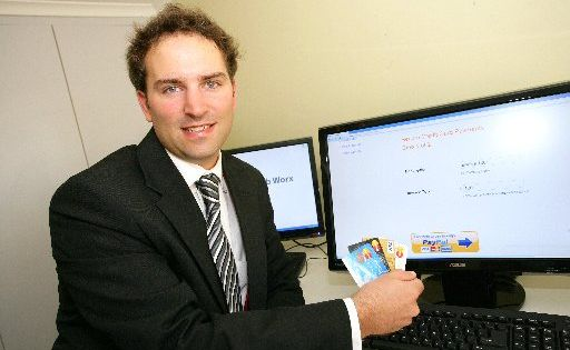 Robert M Simmonds of Zeumic who has helped develop a programme to aid in e-commerce.