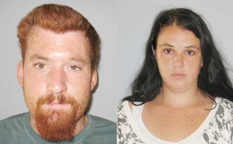 MISSING: Matthew Ryan West, 29, Amanda Jade Gehrig, 26 and their six-month-old son have been reported missing after failing to return from a trip to Gladstone.