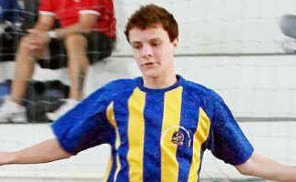Joga Bonita: Josh Rees is off to Brazil to play futsal.