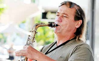 Effective: John Logan has hit back at local busker Tim Walsh's claims the Coffs Harbour City Council's busking policy is 'ridiculous'.
