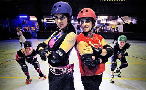 In its infancy on the Northern Rivers, roller derby has already attracted large numbers of new devotees.