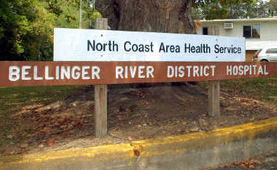 In safe hands: The Nationals intend to save Bellinger River District Hospital.