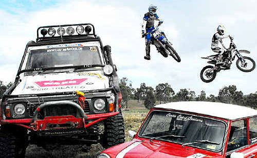 ON TRACK: Camco MotorMania CQ will include street sprints, rallying, off-roads, speedway, drags, motocross, enduro karts, show and shine expos, specialist swap meet and car boot sale, plus a trade fair.