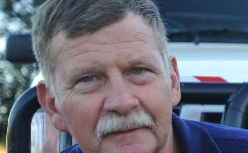 Fire still burns: Des Firth will this week be rewarded for his work as a volunteer firefighter for the past 36 years.