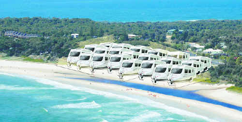 Caravans coming: Byron Shire Council is looking to buy land to create a new caravan park.