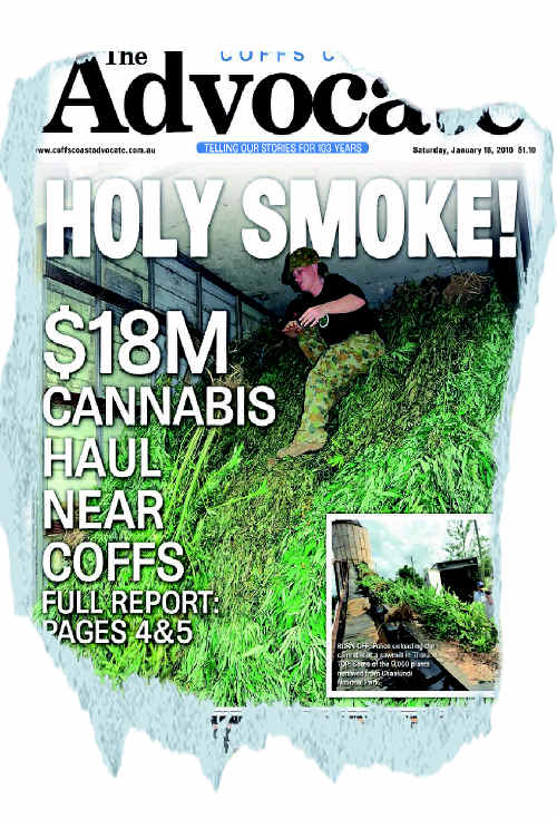 How we reported the drug bust back in January.