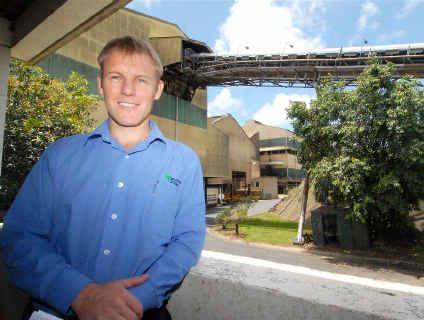 Mackay Sugar CEO Quinton Hildebrand.