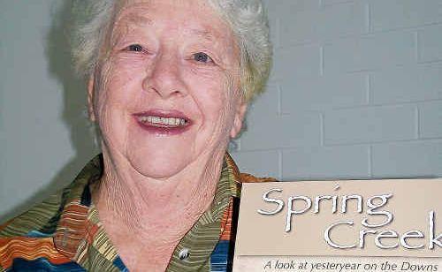 Spring Creek author Joy King.