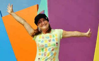 Tears to cheers: Kids entertainer Deb Leaney will re-start her free weekly kids' show Deb Lee's Kidz Biz at C.ex Coffs this Sunday.