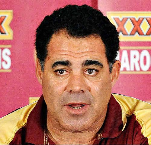 Queensland coach Mal Meninga.
