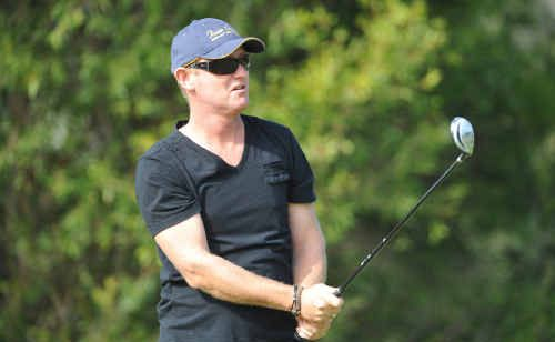 Martin Hodgson was part of the winning foursome at the St Joseph's Primary School golf day held at Grafton District Golf Club yesterday.