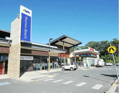 Sold: The Moonee shopping centre has been sold to Gowings for $12.5 million.