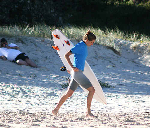 Elise Peate was a winner at the SCU surfing titles.