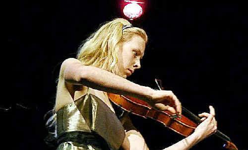 The winner of the last David Helfgott Scholarship, violist Beth Condon.