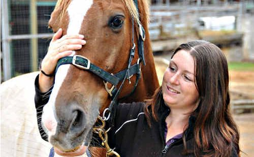 Gympie strapper Karissa Scowcroft will keep an extra close eye on her charges, after Hendra virus was confirmed on a Tewantin property.