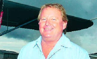Test delayed: Andrew Leighton from Banora Point will have to wait a little longer to get his wings after rain delayed his final examination for his private pilot's licence.