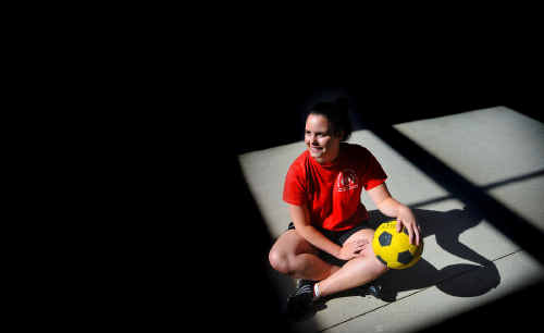 Chanel Moss will be thrust into soccer's limelight with her scholarship.