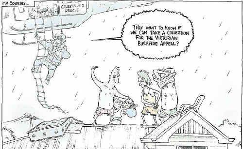 This cartoon was picked as Cartoon of the Year at last year's Rotary Cartoon Awards.