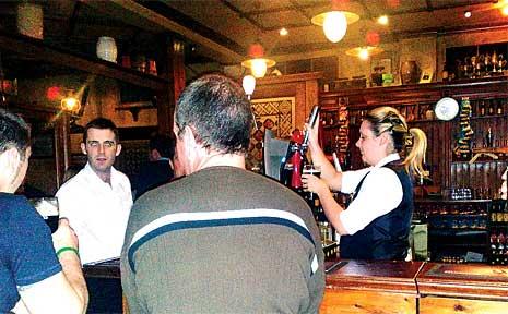 The Quiet Man Pub in Melbourne.