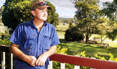 Mark Brennan contemplates development in the Ripley Valley.