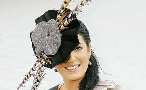 Myer Fashion in the Field winner Georgia Burke.