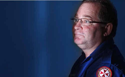 Former ambulance paramedic Wade Walker is relieved he won't have to attend another road fatality after quitting his role last week.