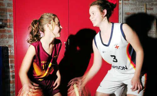 Ellie Hewitt (left) and Rebecca Black are thrilled with their selection in the NSW state team.