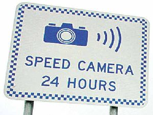 Hungry Head speed camera stays