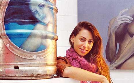 Byron Bay artist Terezka Beck.