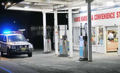 Heist: Armed robbery at Ivan's Tank and Tucker service station, Boambee.