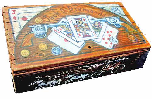 The Jack O' Diamonds Cash Box