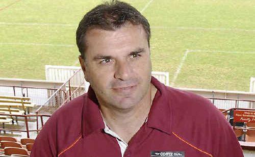 Roar coach Ange Postecoglou