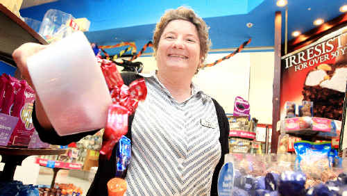 Darrell Lea's Karen Cusack knows chocolate is good for the tastebuds as well as mind and body.