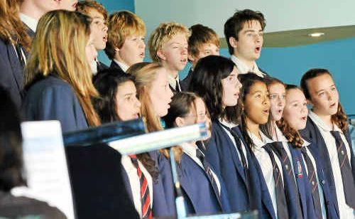 Bishop Druitt College are first-time contenders in the secondary choir section.