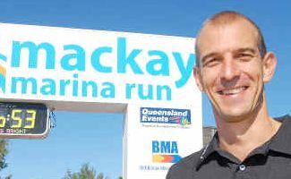 Half-marathon victor Stephen Jackson.