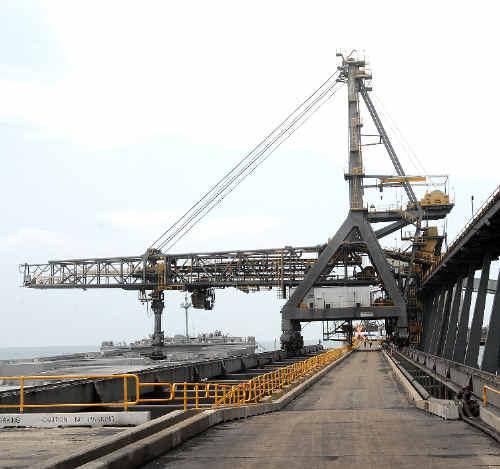Abbot Point Coal Terminal.