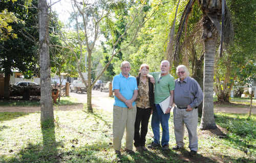 Neerdie Community Action Group, including Don Mullings, Diana Chadwick, Chairman Andy Hamilton and David Camplin, was formed to address issues such as an alleged illegal backyard business.