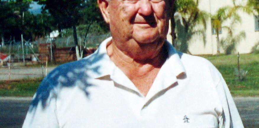 Reg Byrnes died last month aged 83.