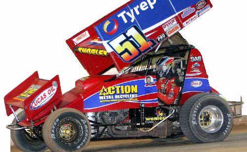 Brisbane driver Peter Thorley's sprintcar.