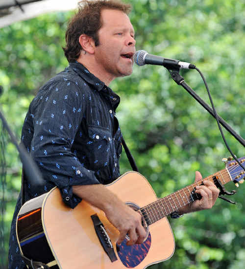 Success: Troy Cassar-Daley was one of the feature acts at the hugely popular Saltwater Freshwater Festival.