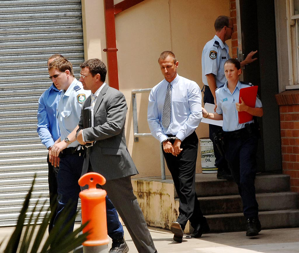 Nathan Baggaley, after an appearance in Casino Court in 2009.