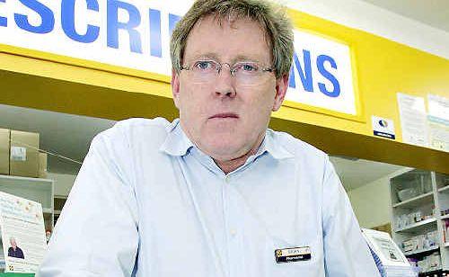 Pharmacist Brian Curran wants to run for federal parliament.
