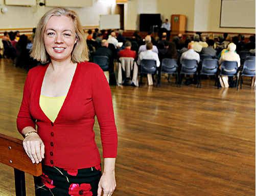 Karen Schmidt was the keynote speaker at the first Gympie Region Business and Community Forum.