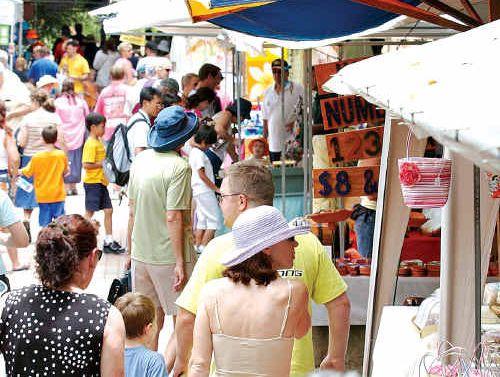 Icon: Eumundi Markets are considered a Queensland tourist icon.