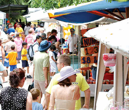 Icon: Eumundi Markets are considered a Queensland tourist icon.