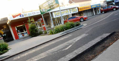 Who is creating hazards in Prince Street, Grafton?
