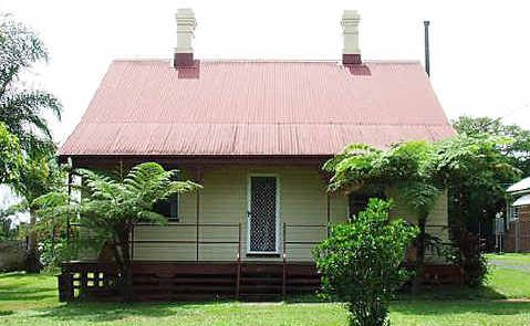 Under threat: The Station Master's cottage in Kyogle.