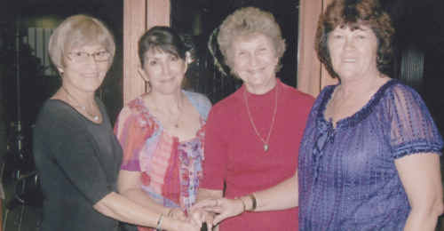 Judy Nahrung, Debbie Adams, Fay Connel and Dianne Malouf.