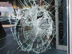 Truck driver injured after rocks thrown through windscreen