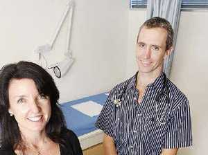 Busy days as medical centre opens